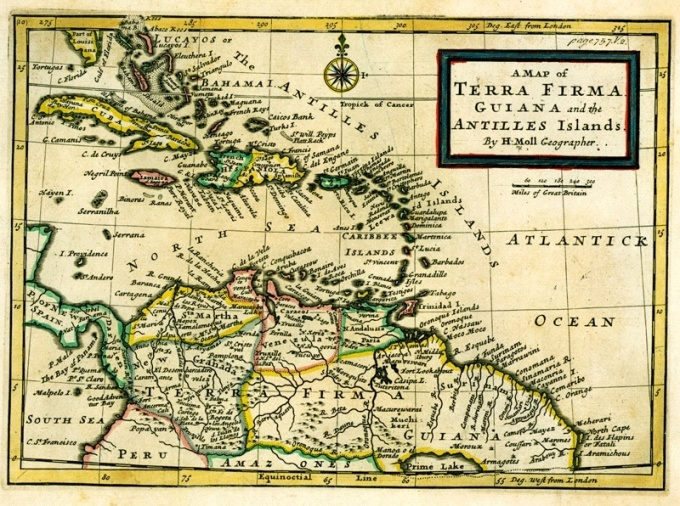 Aruba and the region in the 18th century